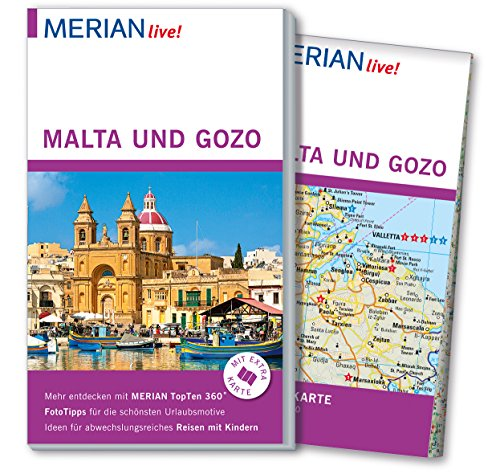 MERIAN live! Reiseführer Malta und Gozo: Mit: Klaus Bötig