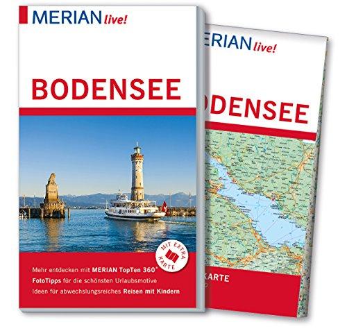 9783834221223: MERIAN live! Reiseführer Bodensee: Mit Extra-Karte zum Herausnehmen
