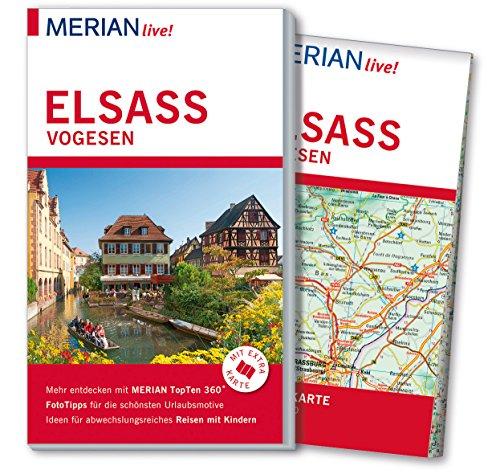 9783834221728: MERIAN live! Reiseführer Elsass Vogesen: Mit Extra-Karte zum Herausnehmen