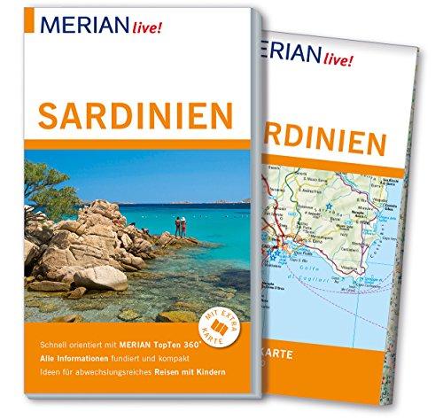 9783834224231: MERIAN live! Reiseführer Sardinien: Mit Extra-Karte zum Herausnehmen