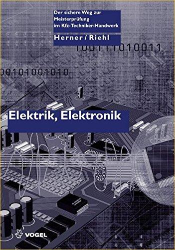 9783834331984: Elektrik, Elektronik