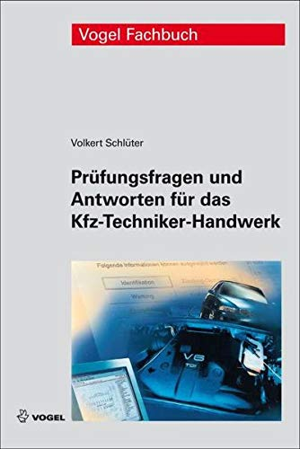 9783834333025: Pr�fungsfragen und Antworten f�r das Kfz-Techniker-Handwerk