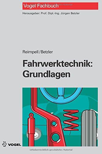 9783834333735: Fahrwerktechnik: Grundlagen (German Edition)