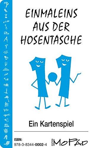 Einmaleins aus der Hosentasche. Buntes Kartenspiel: 36 Spielkarten mit Anleitung. Ab 2. Schuljahr ...