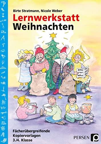 9783834401625: Lernwerkstatt Weihnachten - 3./4. Klasse: Fächerübergreifende Kopiervorlagen