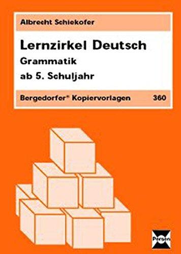 9783834424747: Lernzirkel Deutsch - Grammatik. Ab. 5. Schuljahr