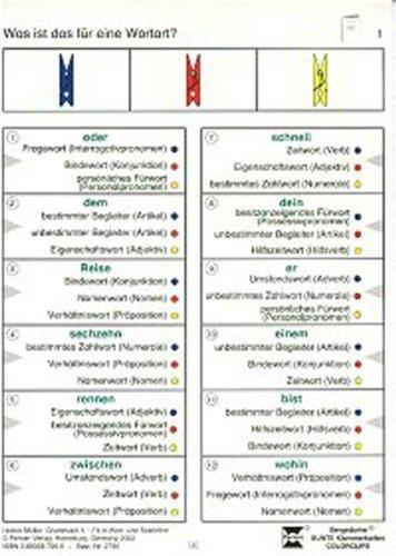 9783834427960: Grammatik 5: Fit in Wort- und Satzlehre (3. und 4. Klasse)