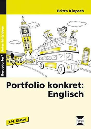 9783834430274: Portfolio konkret: Englisch: 3. und 4. Klasse