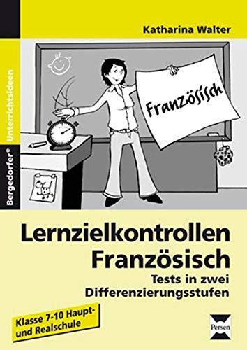 9783834432346: Lernzielkontrollen Franz�sisch