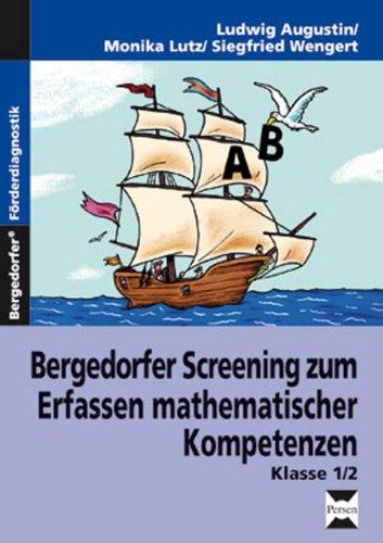 9783834434654: Bergedorfer Screening zum Erfassen mathematischer Kompetenzen, Klasse 1/2: Lehrerband (1. und 2. Klasse)