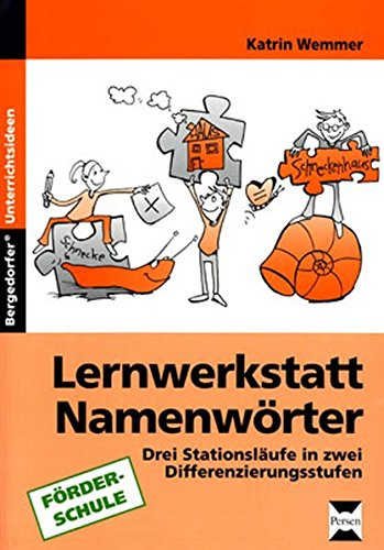 9783834434920: Lernwerkstatt Namenwörter: Arbeitsmaterial Differenzierungsstufen