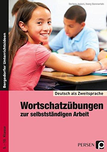 9783834436177: Deutsch als Zweitsprache - Wortschatzübungen zur selbstständigen Arbeit: 5. bis 10. Klasse
