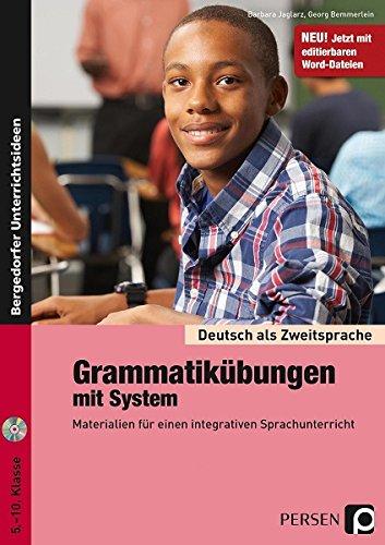9783834437242: Deutsch als Zweitsprache - Grammatikübungen mit System: Sekundarstufe I, 5. bis 10. Klasse
