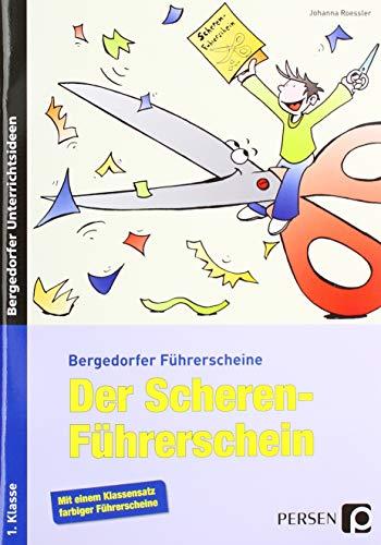 9783834437518: Der Scherenführerschein: Arbeitsblätter zur Verbesserung der Feinmotorik