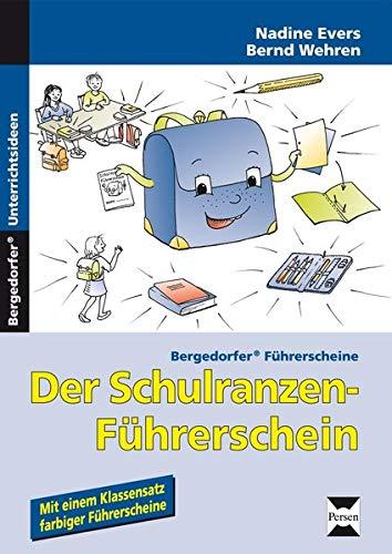9783834437600: Der Schulranzen-Führerschein