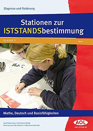 9783834454140: Stationen zur Iststandsbestimmung: Mathe, Deutsch und Basisfähigkeiten (5. Klasse)