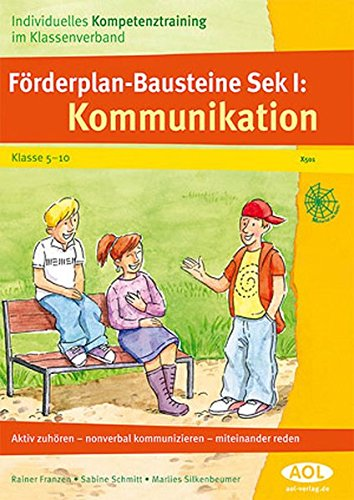 9783834455017: Förderplan-Bausteine Sek.I: Kommunikation
