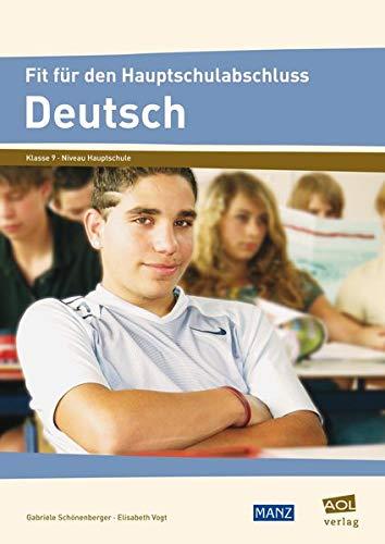9783834455307: Fit für den Hauptschulabschluss: Deutsch: Klasse 9