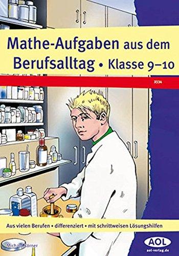 9783834455345: Mathe-Aufgaben aus dem Berufsalltag, Kl. 9-10