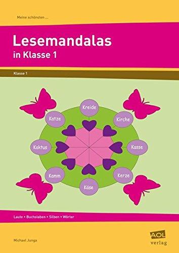 9783834456267: Meine schönsten Lesemandalas in Klasse 1: Laute - Buchstaben - Silben - Wörter
