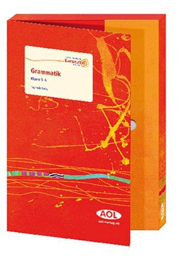9783834480200: Lernzirkel in der Box: Grammatik, 5./6. Klasse: Arbeitsheft mit Kopiervorlagen