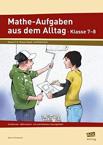 9783834480439: Mathe-Aufgaben aus dem Alltag. Klasse 7 - 8