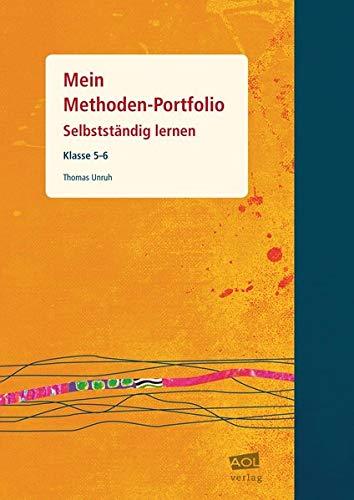 9783834480477: Mein Methoden-Portfolio. Schülerheft Klasse 5-6: Selbstständig lernen