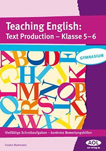 9783834481382: Teaching English: Text Production - Klasse 5-6