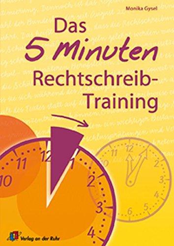 9783834600271: Das 5-Minuten-Rechtschreibtraining
