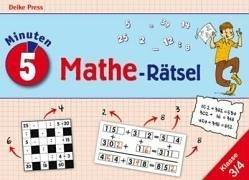 5-Minuten-Mathe-Rätsel. Klasse 3 und 4: Grundrechenarten im