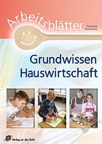 9783834602350: Arbeitsblätter Grundwissen Hauswirtschaft