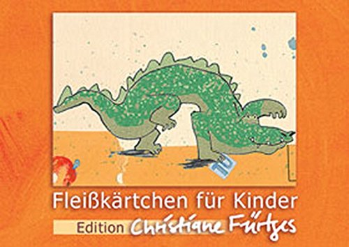 9783834603043: Fleißkärtchen für Kinder. Edition Christiane Fürtges: orange Box