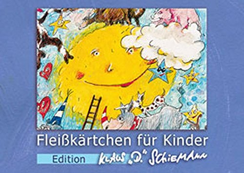 Fleißkärtchen für Kinder. Edition Klaus D. Schiemann: blaue Box