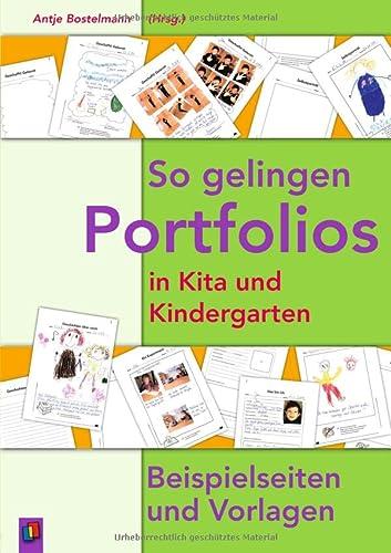 9783834603227: So gelingen Portfolios in Kita und Kindergarten