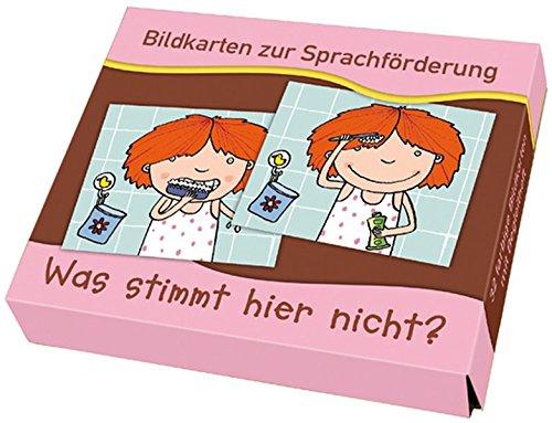 9783834603586: Bildkarten zur Sprachf÷rderung: Was stimmt hier ni