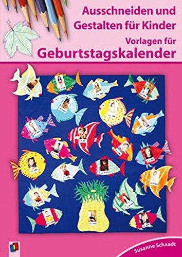 9783834603609: Vorlagen für Geburtstagskalender: Ausschneiden und Gestalten für Kinder