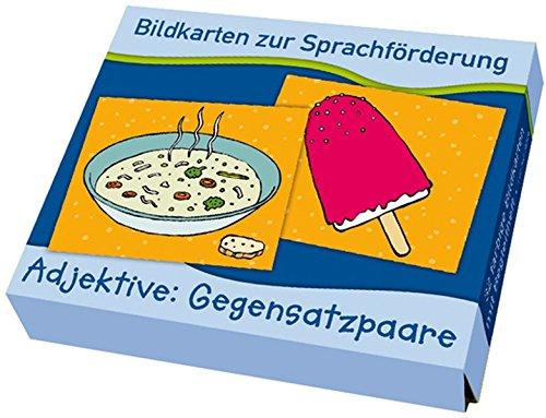 9783834606372: Bildkarten zur Sprachförderung: Adjektive: Gegensatzpaare