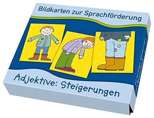 9783834607140: Bildkarten zur Sprachförderung: Adjektive: Steigerungen