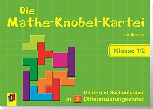 9783834607775: Die Mathe-Knobel-Kartei Klasse 1/2: Denk- und Sachaufgaben in 3 Differenzierungsstufen