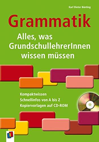 9783834608659: Grammatik - Alles, was GrundschullehrerInnen wissen müssen