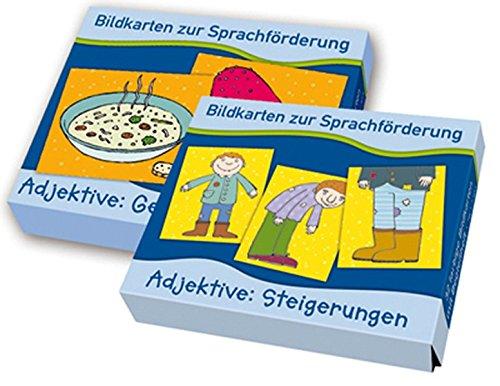 9783834609137: Bildkarten zur Sprachf�rderung: PAKET Adjektive: Bestehend aus