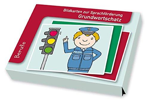 9783834609229: Bildkarten zur Sprachförderung: Grundwortschatz: Berufe