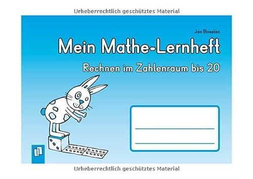 9783834623003: Mein Mathe-Lernheft: Rechnen im Zahlenraum bis 20