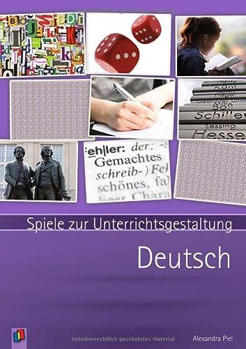 9783834623300: Deutsch: Spiele zur Unterrichtsgestaltung