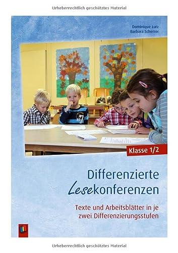 9783834624888: Differenzierte Lesekonferenzen - Klasse 1/2: Texte und Arbeitsblätter in je zwei Differenzierungsstufen