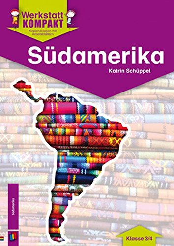 9783834624970: Südamerika - Kopiervorlagen mit Arbeitsblättern