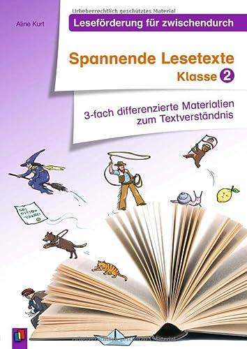 9783834625915: Leseförderung für zwischendurch: Spannende Lesetexte Klasse 2