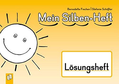 9783834626622: Mein Silben-Heft - Lösungsheft