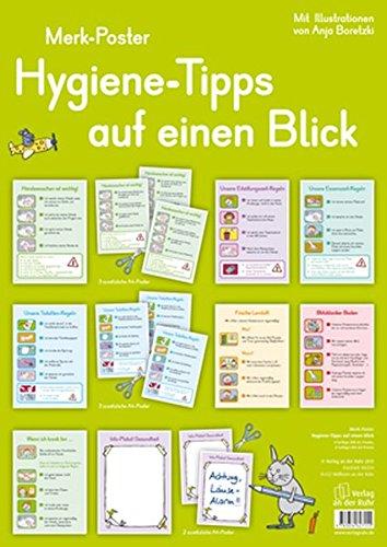 9783834627155: Merk-Poster: Hygiene-Tipps auf einen Blick