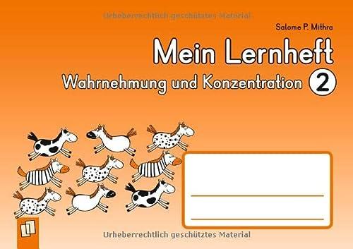 9783834627186: Mein Lernheft: Wahrnehmung und Konzentration 2